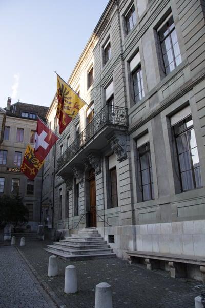 Vielle ville Genève